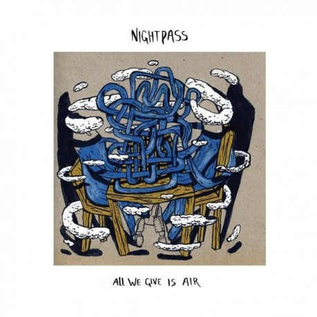 NIGHTPASS / MY POLARIS ATTILERY - Split 12""