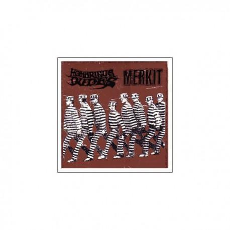 "MERKIT / HOMBRINUS DUDES - Split 12"""