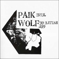 BATTLE OF WOLF 359 / JUNE PAIK - Split 7""