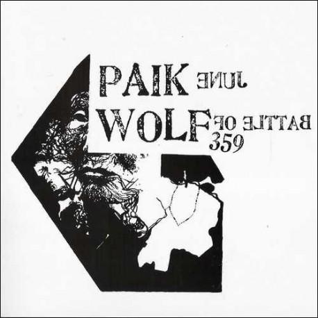 "BATTLE OF WOLF 359 / JUNE PAIK - Split 7"""
