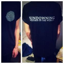 SUNDOWNING - Seizures SHIRT
