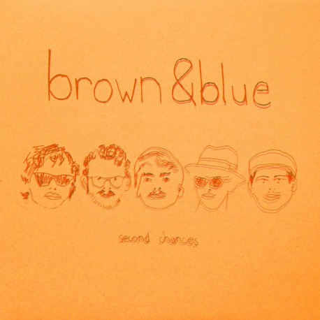 BROWN & BLUE - Second Chances LP
