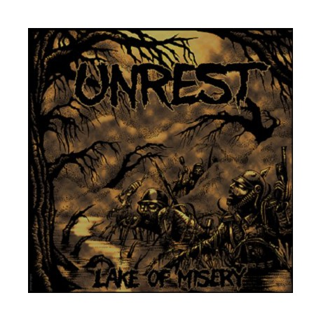 UNREST - Lake Of Misery LP
