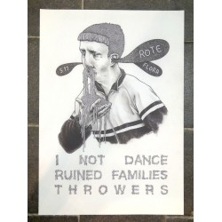 GWAENDO - Show Poster - I Not Dance, Ruined Families, Throwers - 5.11.12 Hamburg