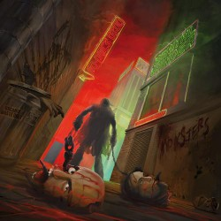 GENITAL GRINDER / COMO MUERTOS - Split LP