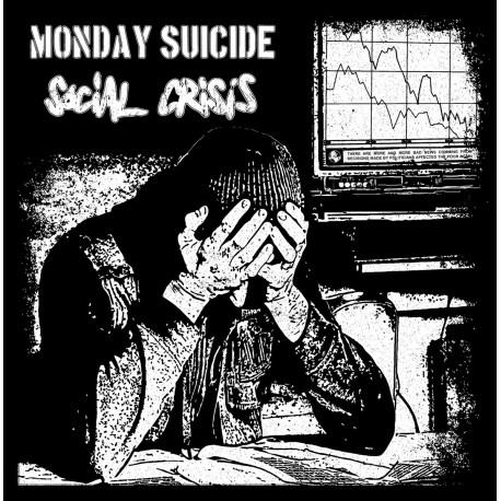 MONDAY SUICIDE / SOCIAL CRISIS - Split 12''