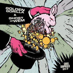 GOLDEN GORILLA / GHOST OF WEM - Split LP