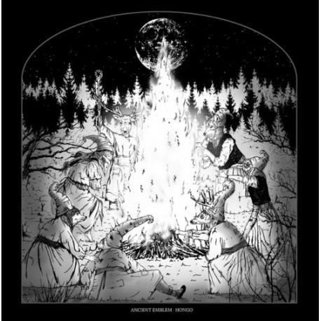 ANCIENT EMBLEM / HONGO - Split LP