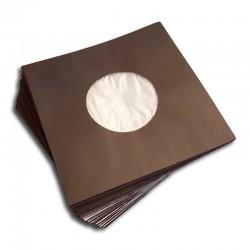 7' Poly-Lined Record Inner Sleeve / Gefütterte Innenhülle (black)