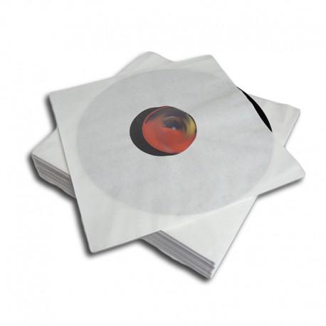 12''/LP Poly-Lined Record Inner Sleeve / Gefütterte Innenhülle (white)