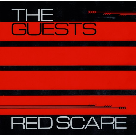THE GUESTS - Red Scare LP