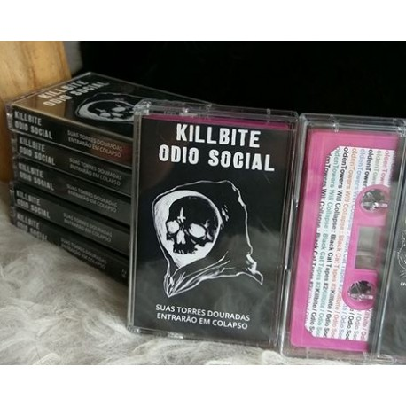KILLBITE / ODIO SOCIAL - Split TAPE