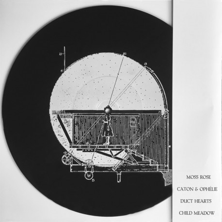 DUCT HEARTS / MOSS ROSE / CATON & OPELIE / CHILD MEADOW - Split 12''