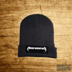 ALWAYS WANTED WAR - Logo BEANIE