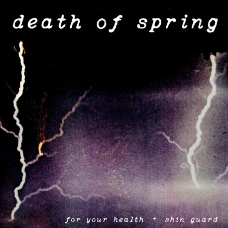 FOR YOUR HEALTH / SHIN GUARD - Split LP
