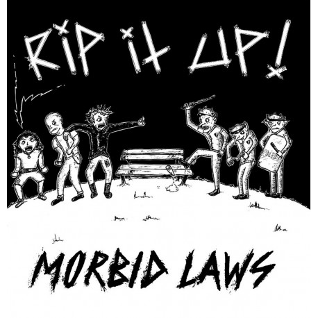 RIP IT UP - Morbid Laws LP
