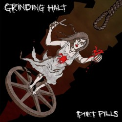 GRINDING HALT / DIET PILLS - Split 7""